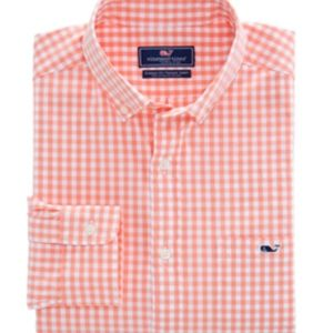 Vineyard Vines Men's Whale Shirt Button Down Shirt